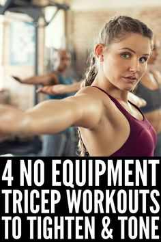 beginner arm workouts Tighten and Tone: 8 Transforming Tricep Workouts for Women 8 Tricep Workouts for Women Tricep Workout Women, Dumbbell Workout, Pilates Workout, Workout Men, Cycling Workout, Workout Plans, Workout Routines, Improve Mental Health, Good Mental Health