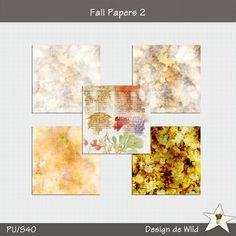 Fall Papers 2 by Design de Wild