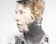 """Check out new work on my @Behance portfolio: """"double exposure portrait #3"""" http://on.be.net/1gume9H"""