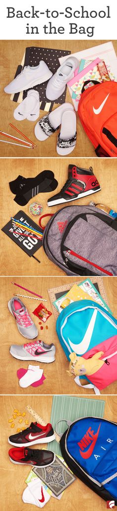 The most wonderful time of the year is upon us: back-to-school! And even though your kids might not be thrilled to trade pools and parks for teachers and tests some new gear might help ease the transition. Here are our top picks for sending them back in School Outfits For College, Make School, Back 2 School, School Shopping, Going Back To School, School Hacks, Middle School, College Hacks, Middle Ages
