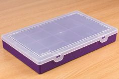 Storage Box 13 Compartment - 13 compartments to hold all of your essential Maker goods - Violet