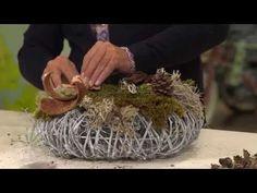Creëer zelf een trendy decoratiestuk van takken en leuke accessoires met hulp van Romeo Sommers - YouTube
