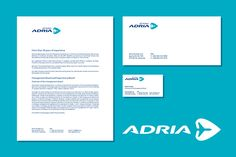 Adria airways rebranding concept