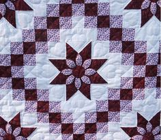 Dahlia Irish Chain Quilt
