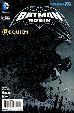 The cover to Batman & Robin #18, art by Patrick Gleason, Mick Gray, & John Kalisz
