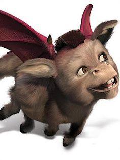 Shrek - donkey dragon baby