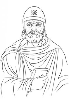 philo of alexandria coloring page