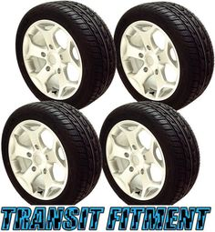 18  Silver Alloy Wheels Tyres Ford Transit 2013 ST 5x160 Van Load Rated 2554518