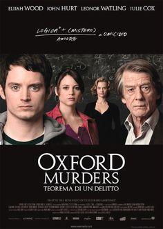 Locandina italiana Oxford Murders - Teorema di un delitto