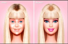 Barbie — Without Make-up