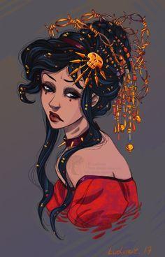 Little queen by Ludimie.deviantart.com on @DeviantArt