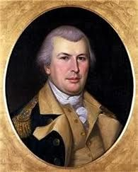 """Revolutionary War hero and George Washington's most competent general, Nathanael Greene, was in Dubbed as """"The Fighting Quaker,"""" Greene often struggled with reconciling his pacifist beliefs with his career in the military career. American Revolutionary War, American War, Early American, American History, Today In History, Us History, History Facts, Continental Army, John Wright"""