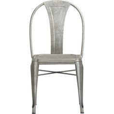 Lyle Side Chair in Outdoor Dining | Crate and Barrel