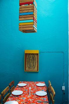 The Zandunga café features cuisine from the Oaxacan isthmus of Tehuantepec.