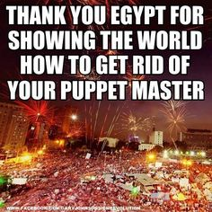 Cheers & hope for Egypt's future <3