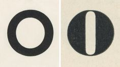 Futura Medium by Paul Renner, Bauer 1927 and Roman No 1, Bruce Type Foundry ca 1815