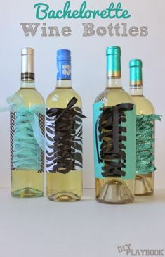 Remember when we dressed up wine bottles for your next bachelorette party? Well, well, well… we wanted to make sure we gave you beer drinkers out there just as much bachelorette love! So whether you're the bride-to-be, an all-star Maid of Honor, or one rockin' bridesmaid… cheers to you and your favorite ladies drinking in… Read More »
