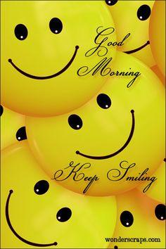 A cute good morning wish