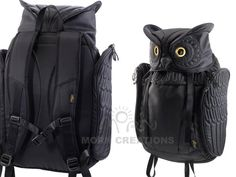 Owl Backpack by Morn Creations