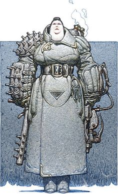Arte Sci Fi, Sci Fi Art, Character Concept, Character Art, Concept Art, Fantasy Characters, Female Characters, Arte Robot, Arte Cyberpunk