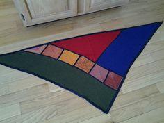 Ravelry: High Street Shawl pattern by Nancy Whitman
