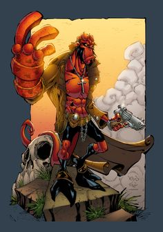 Hellboy by ~pixeltool on deviantART