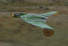 La Segunda Guerra Mundial, Alemanes - Armas secretas del aire: Focke Wulf 1000x1000x1000 proyecto.
