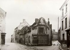 Dutch gables at the junction of Birmingham Street and Angel Street, 1910