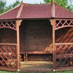 Sandringham Wooden Pavilion Gazebo
