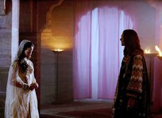 "Queen Esther: ""What made you come back?""  King Xerxes: ""I saw them, I saw the stars.""  - One Night With the King (2006)"