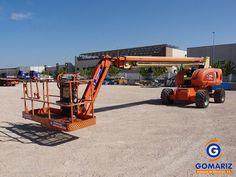 JLG 860SJ Diesel Telescopic boom lift. Work height: 28m. Year: 2005 (Gomariz Sistemas de Elevación)