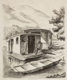 foot wide shanty boat-117-082-01-f.jpg ... | Shanty Boat | Pinterest ...