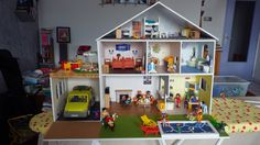 Maison playmobil en carton plume (playmobil house)