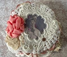 Doily Book by Shabby Royale