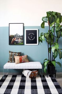 Trendy Ideas For Diy Home : I love simple upholstery projects for updating less-than-exciting furniture piec... TrendyIdeas.net | Your number one source for daily Trending Ideas