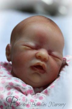 Amazing-Realism-Reborn-Micro-Preemie-Wee-Patience-Laura-Lee-Eagles-9-034-Baby-Girl