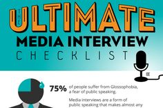 Whether you're media training clients or are preparing for an interview yourself, here's a checklist of what communicators should do to ace the interaction.
