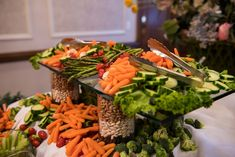 Vegetable Display | Travis and Haley G Photography | Dominion House