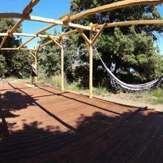 Yoga+deck+construction+DIY