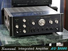 The beast!!  SANSUI AU-10.000 As rare as is gets ;)