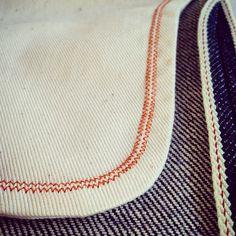 thecompanionseye:Double zig zag stitch.