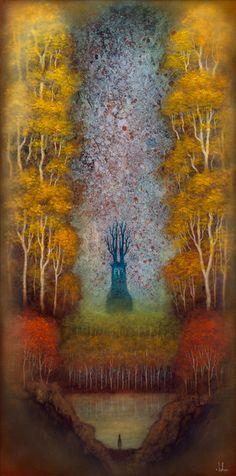 Andy Kehoe, 'Dreamscape Wanderer', 2016, Jonathan LeVine Gallery   Artsy