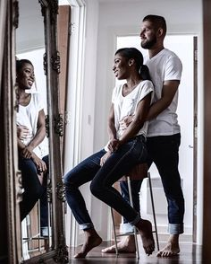 Gorgeous interracial couple photography #love #wmbw #bwwm #favorite ❤