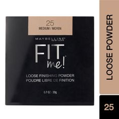 Maybelline New York Fit me Loose Finishing Powder - 25 Medium: Buy Maybelline New York Fit me Loose Finishing Powder - 25 Medium Online at Best Price in India | Nykaa Maybelline, Dark Circles Treatment, Age Rewind, Eye Palettes, Free Makeup Samples, Under Eye Concealer, Finishing Powder, Eye Makeup Remover, Lip Stain