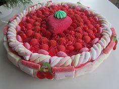 Tarte aux fraises bonbons