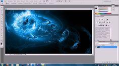 Blue-Wave-Texture-Wallpaper (Photoshop Tutorial) German-Deutsch, via YouTube.