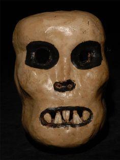 Aztec-style skull mask, Mexico ●彡