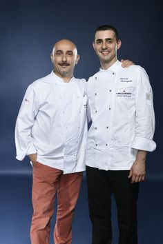 Edoardo Fumagalli and his Mentor Anthony  Genovese representing Italy. Photo credit: Gianni Rizzotti.
