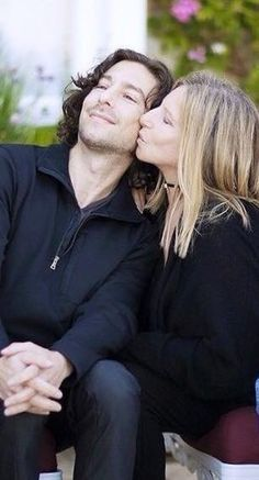 Barbra and her son, Jason Gould