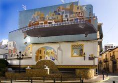 Pinturas Murales - Elias Urbez - Plaza del Mosquit  #Calpe, #Spain #costablanca
